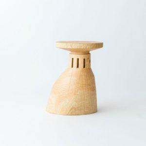 市場の女-宮川象鯨彫刻家具